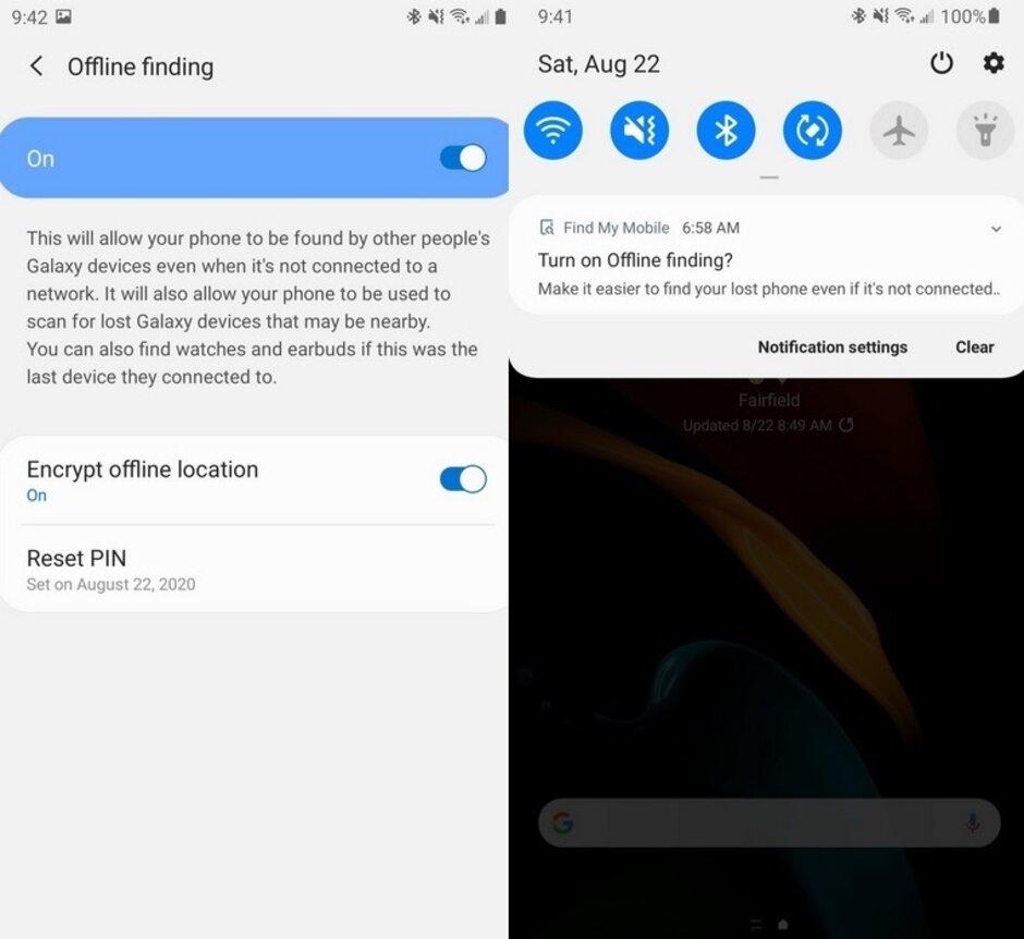 Telefoanele Samsung gasire offline