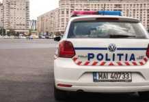 Avertismentul Politiei Romane filmari
