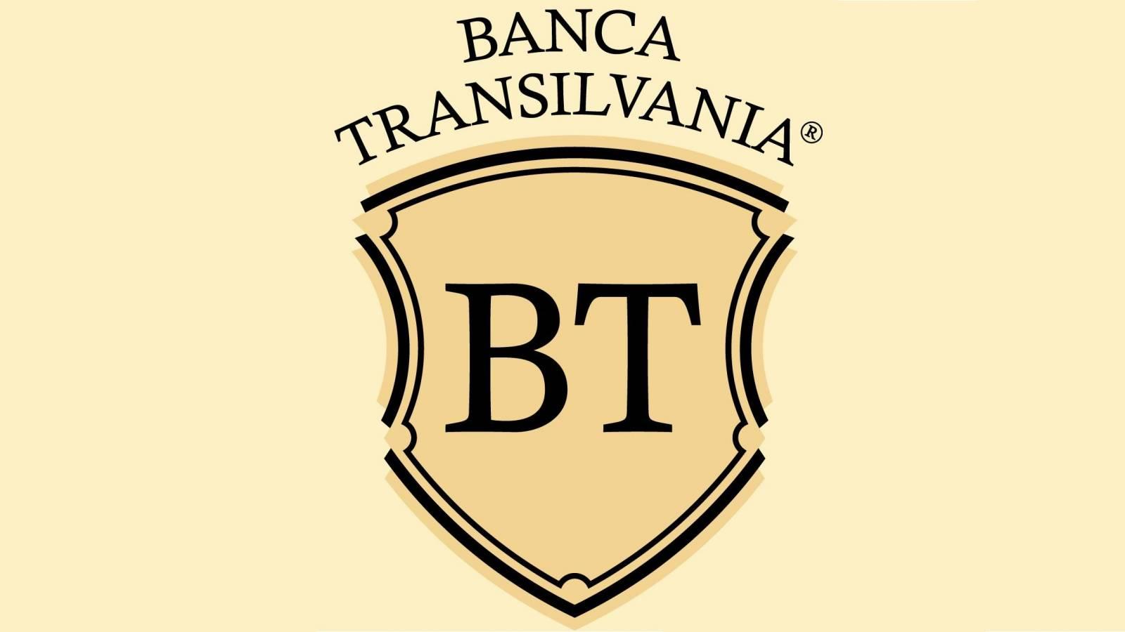 BANCA Transilvania blana