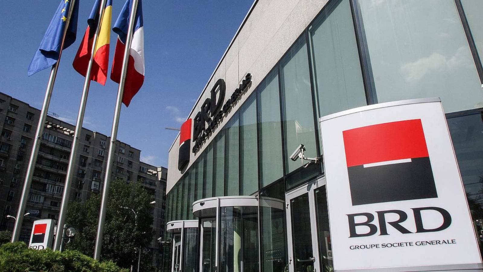 BRD Romania blocata