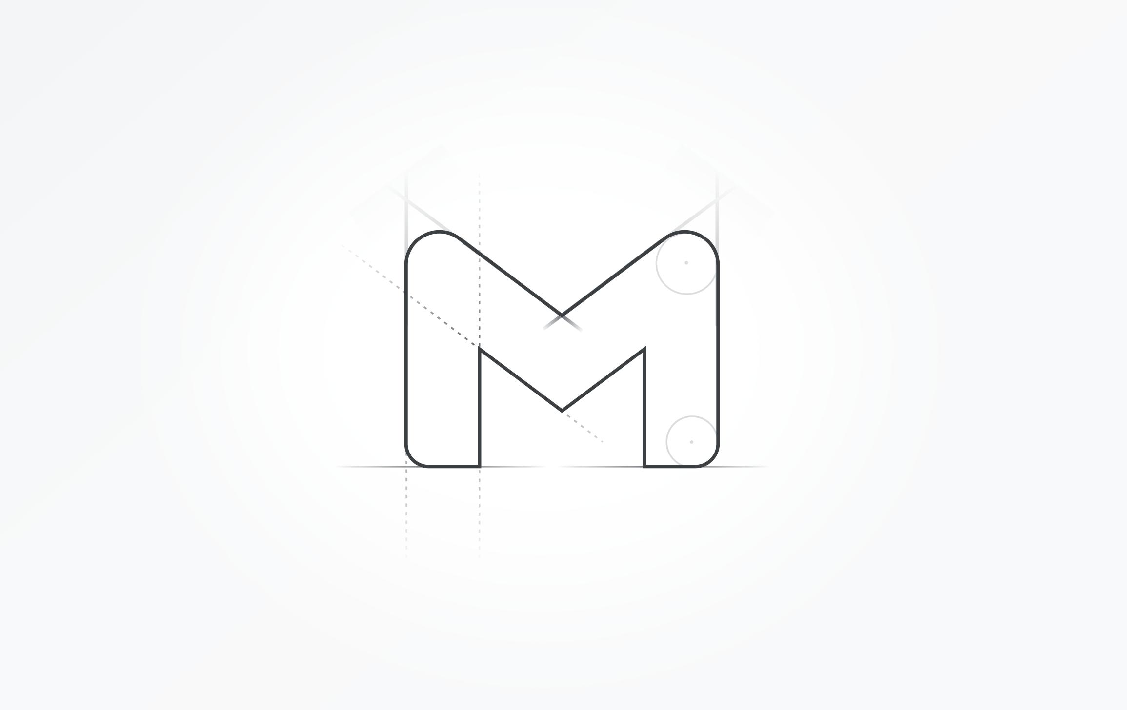 GMAIL logo nou google