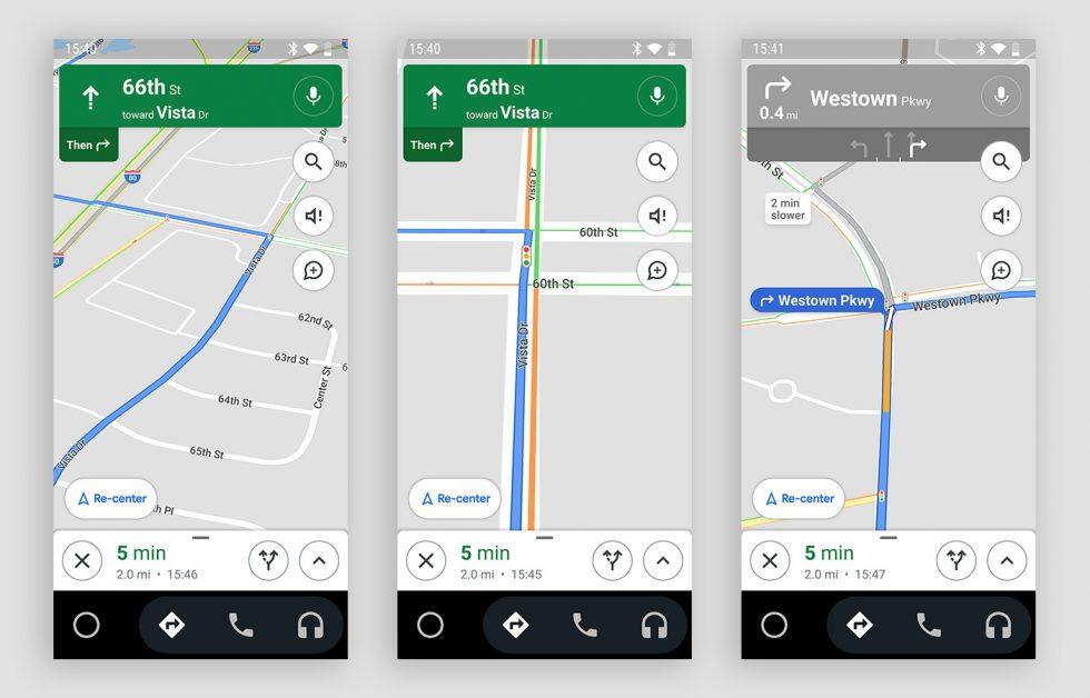 Google Maps semafoare android