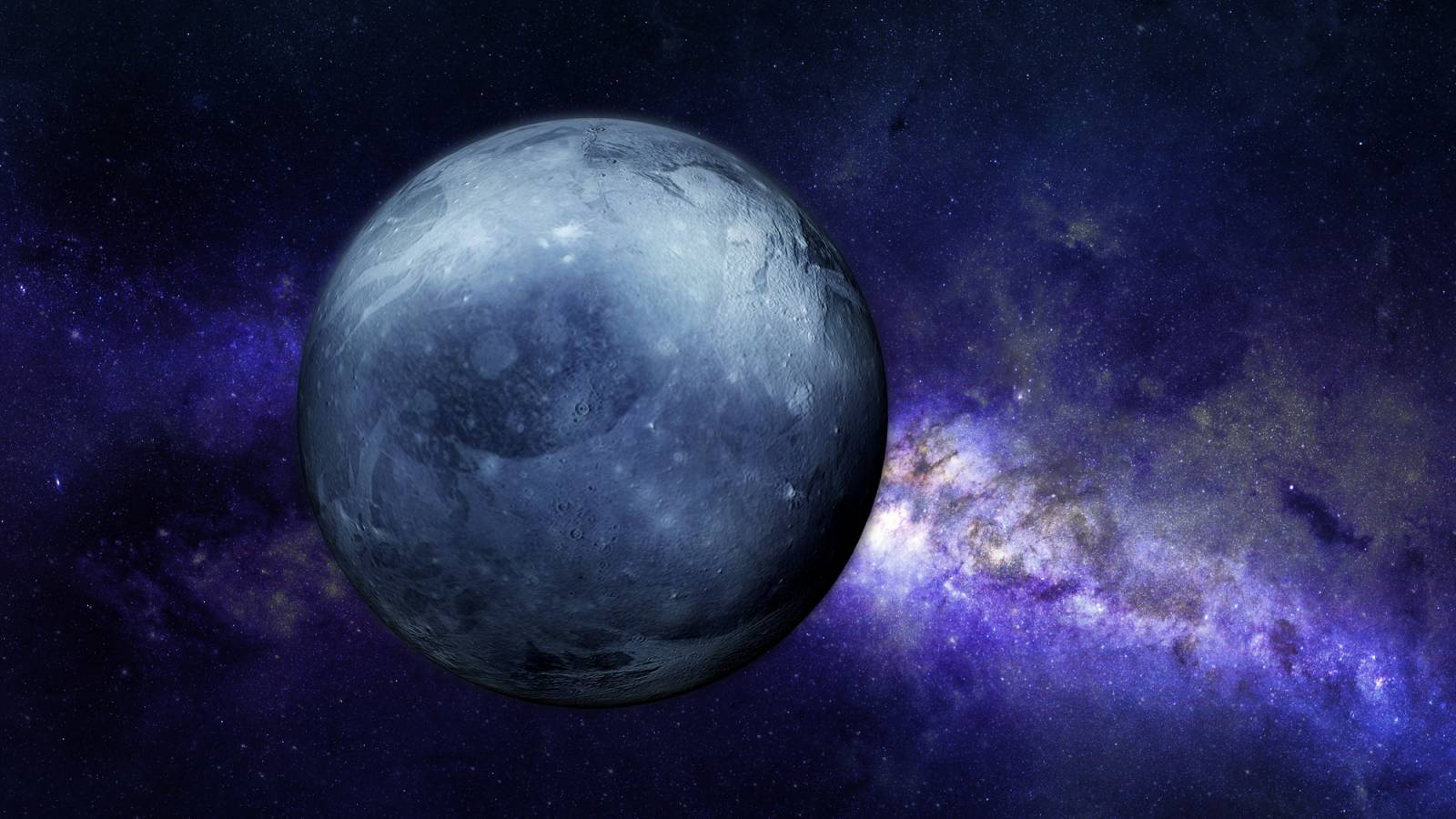 Planeta Pluto compozitie