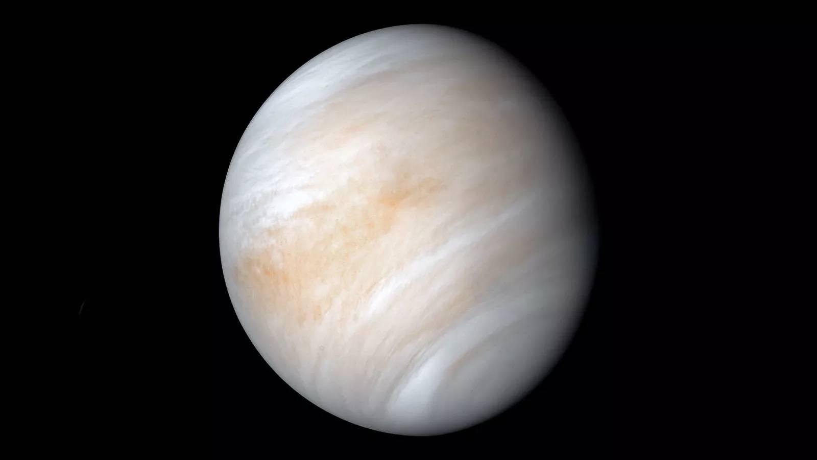 Atmosfera microbilor de pe planeta Venus