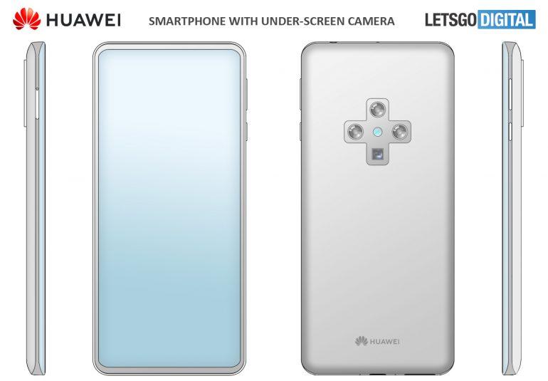 Telefoanele Huawei cruce design
