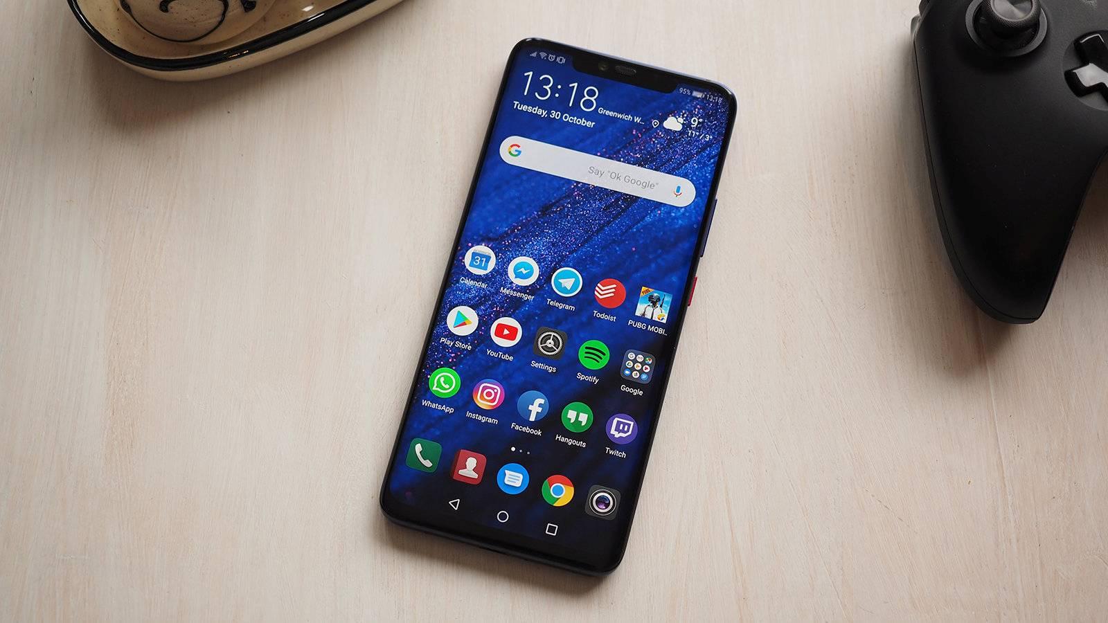 Telefoanele Huawei cruce