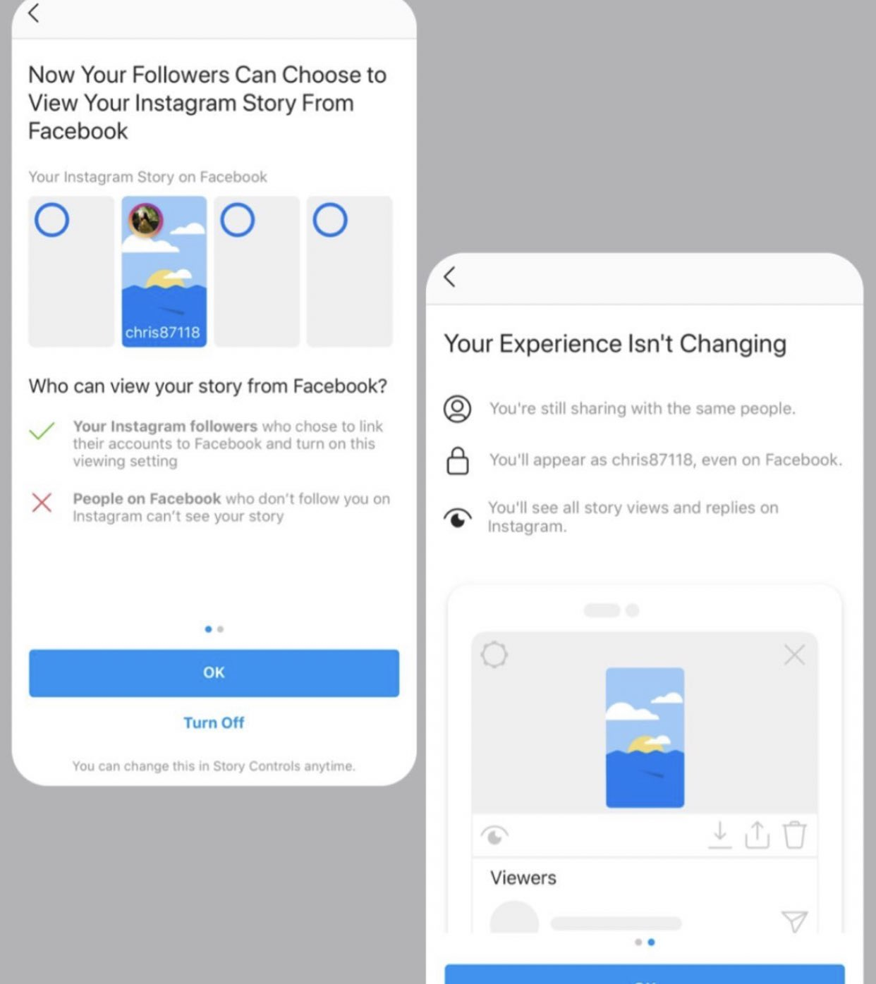 facebook story instagram aplicatie