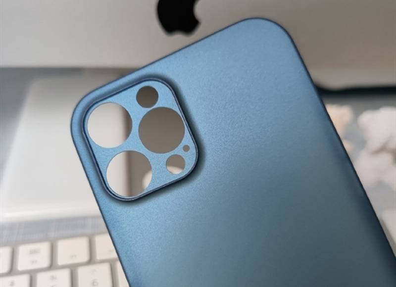 iphone 12 pro imagini carcase lidar albastru