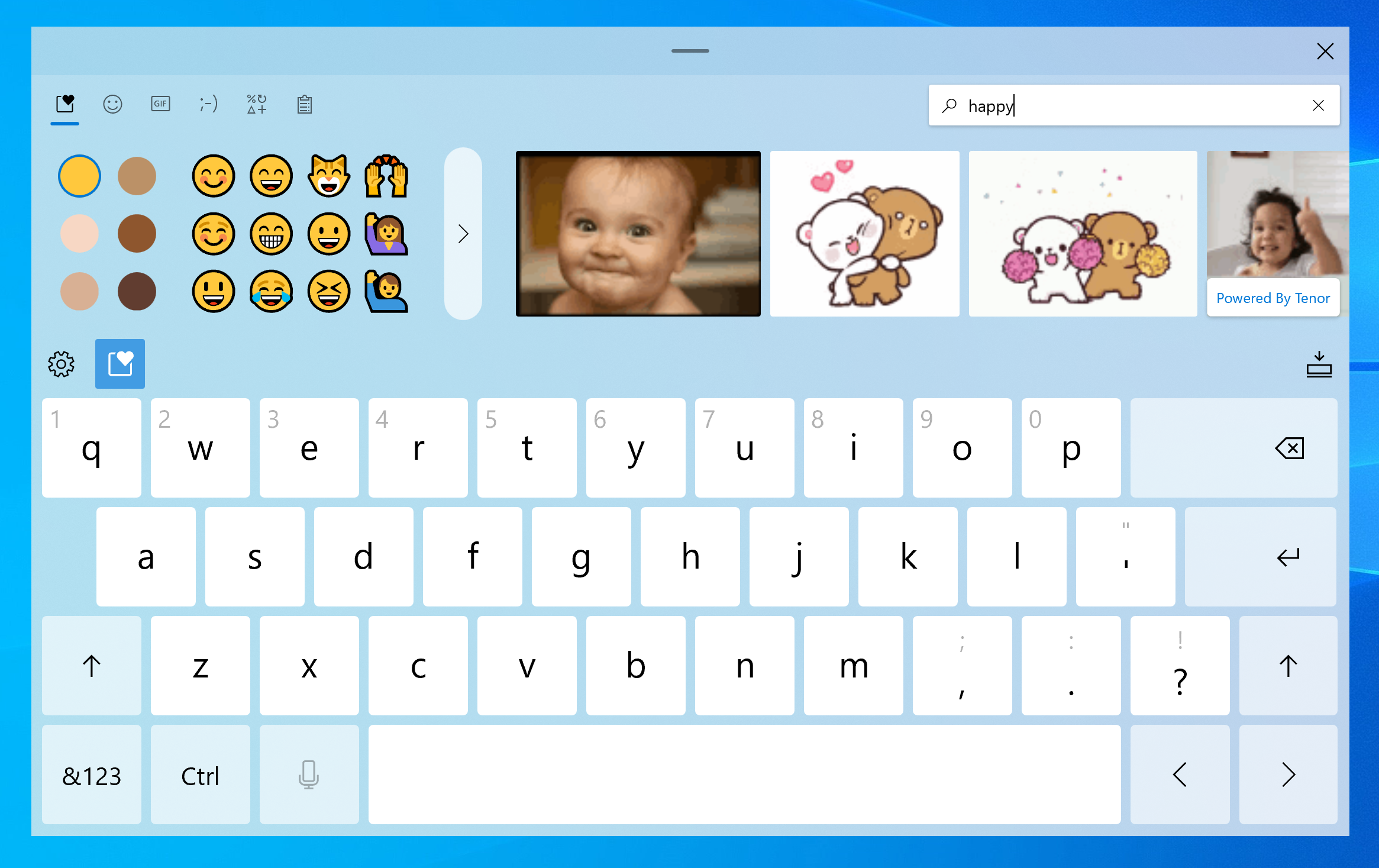 windows 10 tastaturi GIF