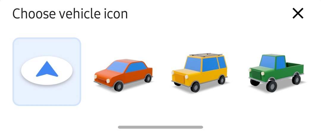 Google Maps iconite masini