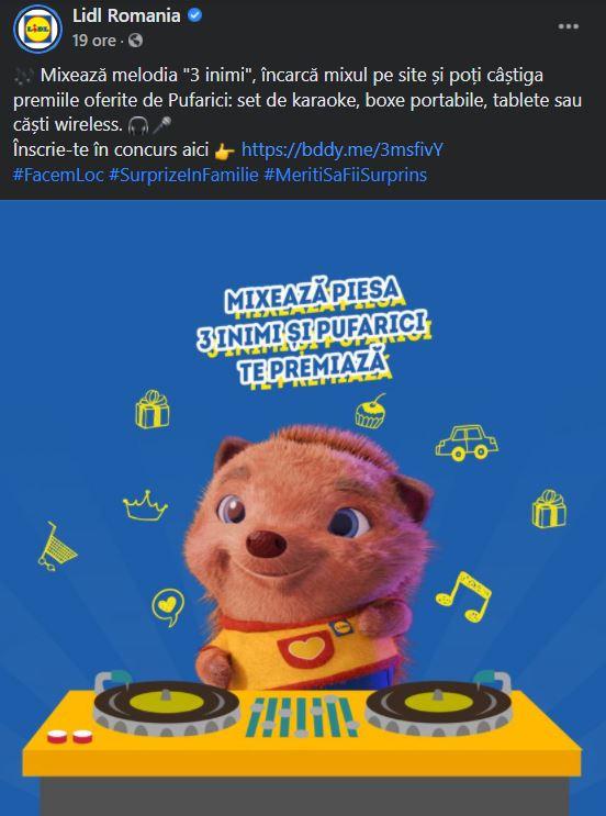 LIDL Romania mixat karaoke