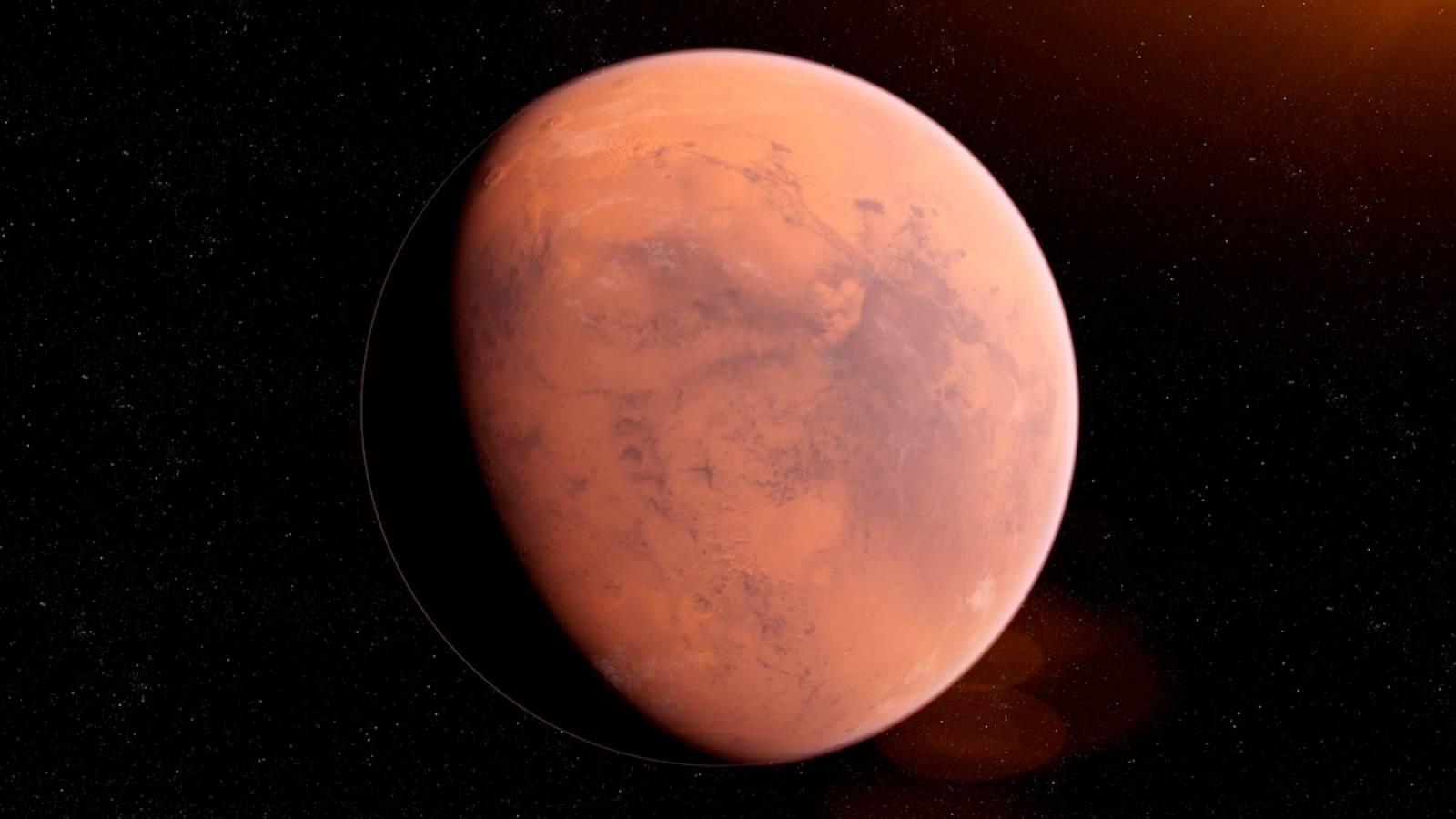 Planeta Marte opusa