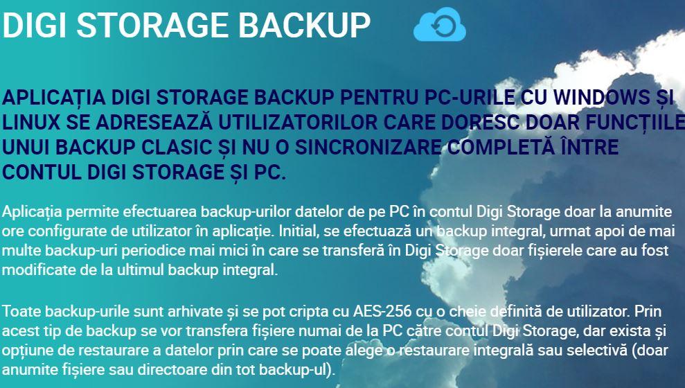 RCS & RDS backup digi storage