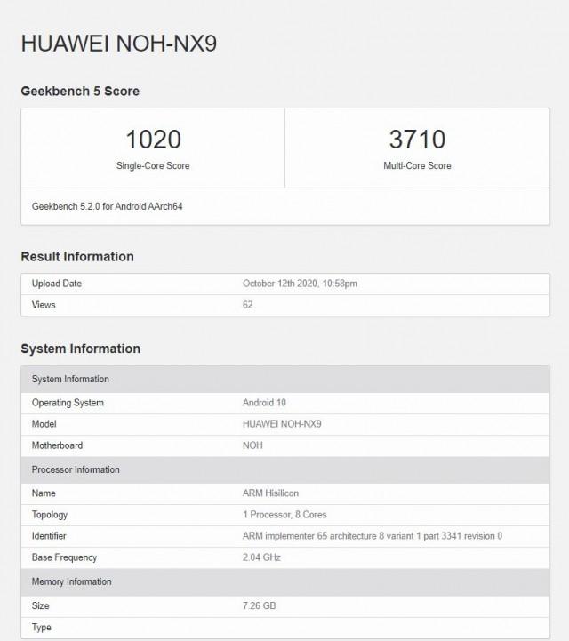 Telefoanele Huawei entuziasmeaza benchmark