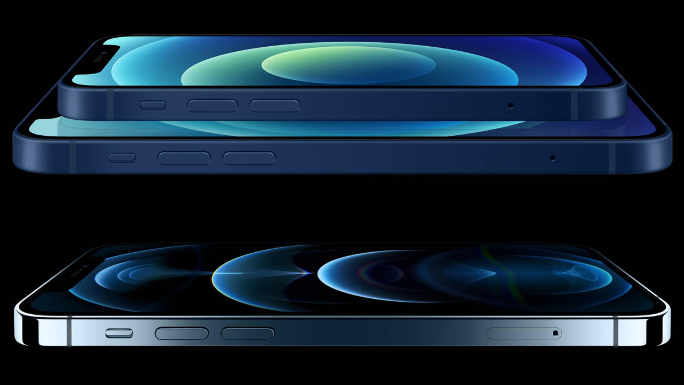 iPhone 12 casti cutie