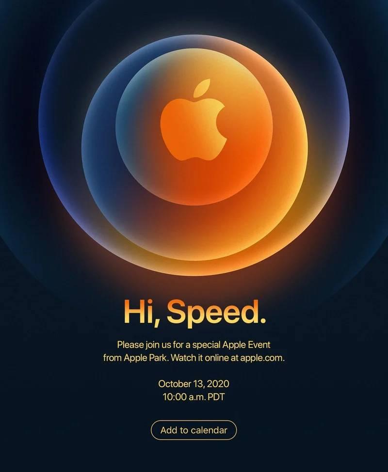 iphone 12 data lansare apple invitatie