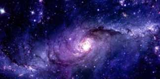 Calea Lactee contorsionare