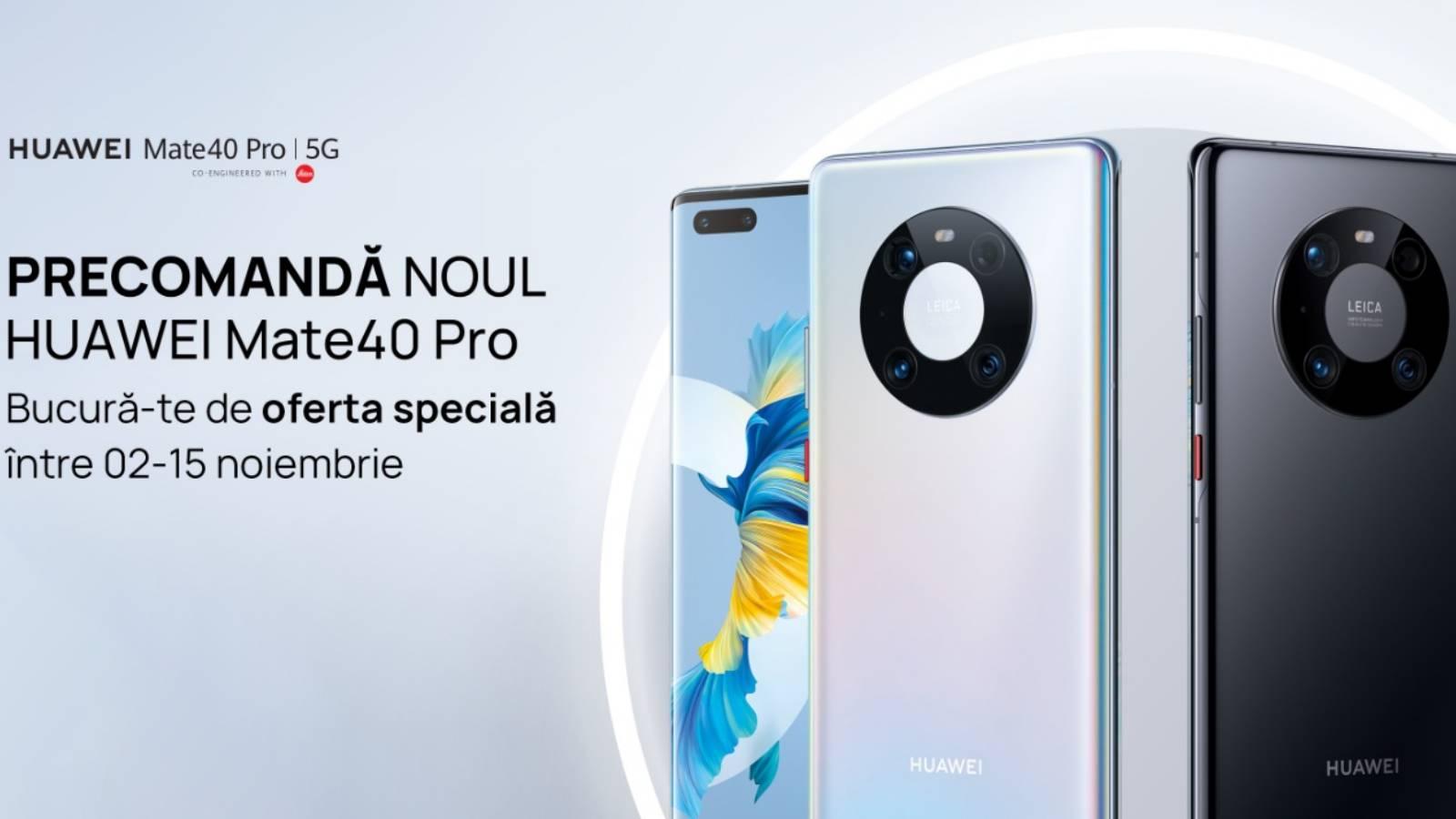 Huawei MATE 40 Pro Lansat Romania