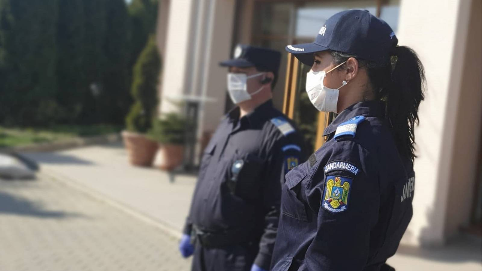 Jandarmeria Romana scuze romani coronavirus