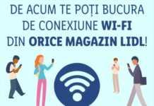 LIDL Romania conexiune wifi gratuita