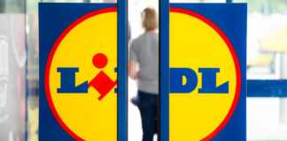 LIDL Romania tricolor