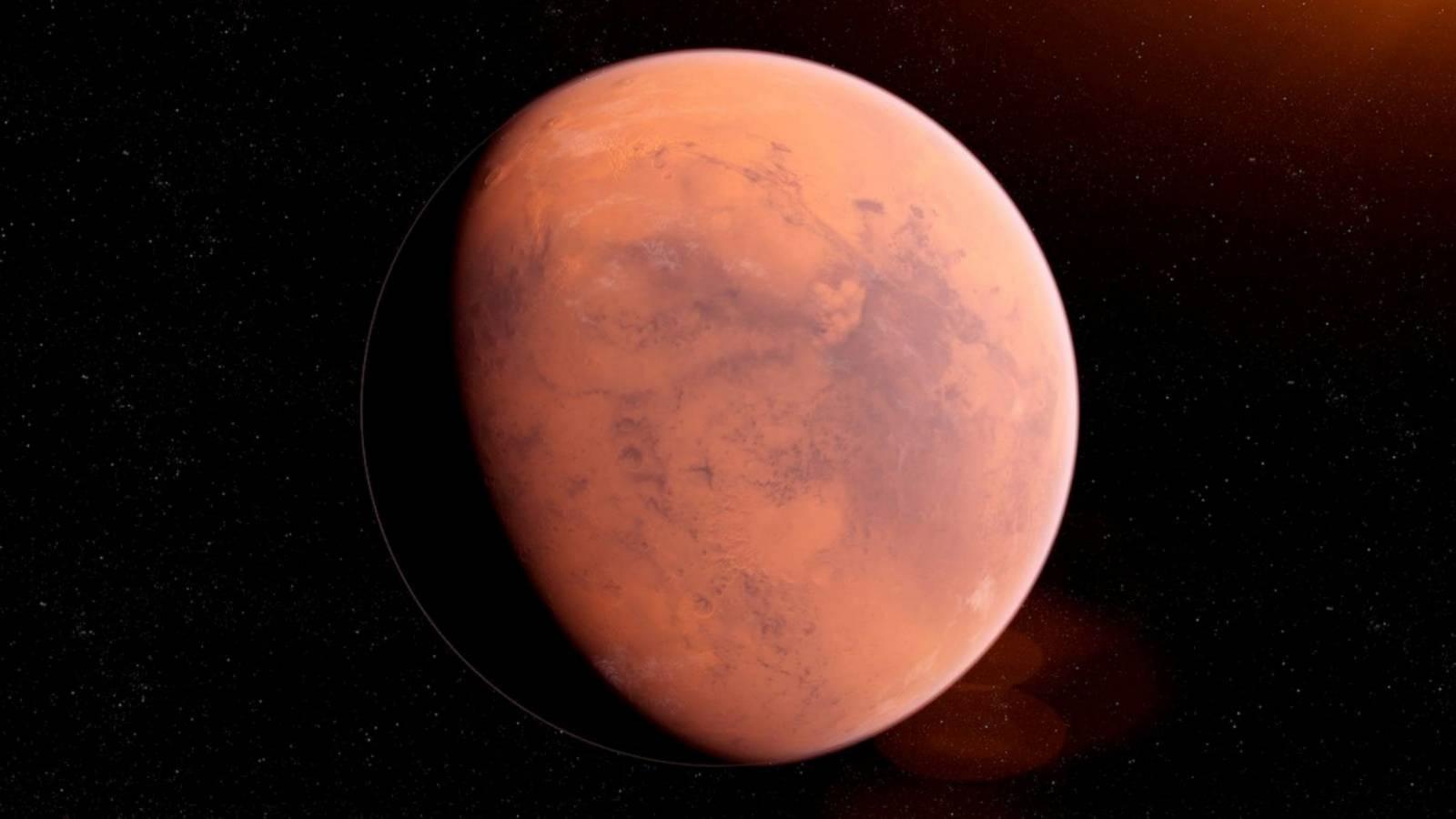 Planeta Marte inundatii