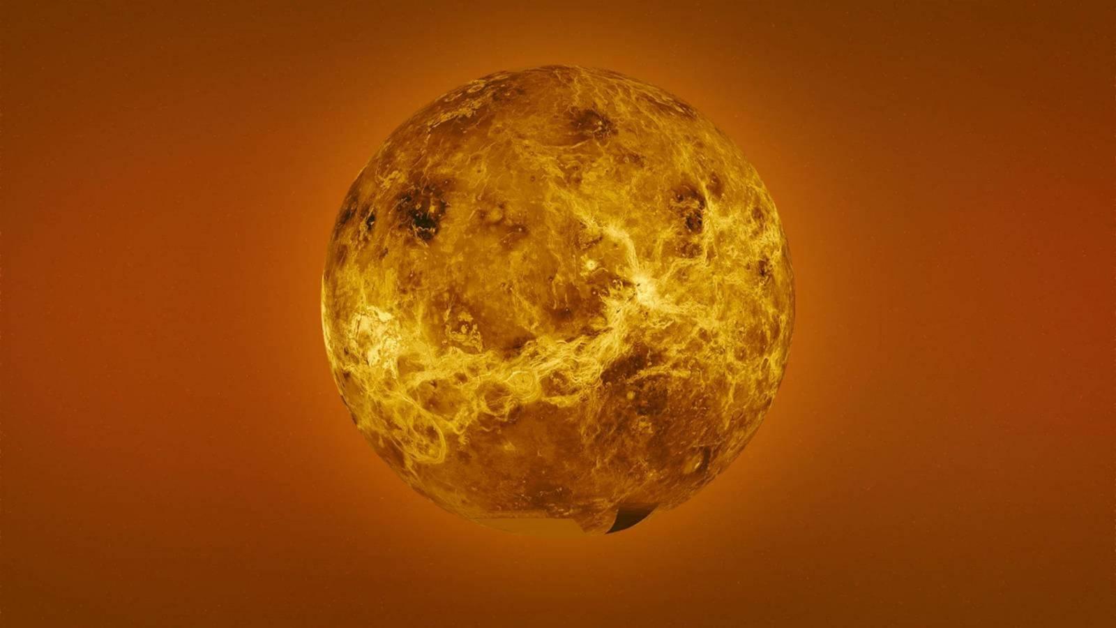 Planeta Venus dramatic