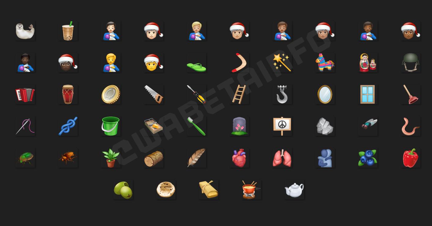 WhatsApp craciun emoji