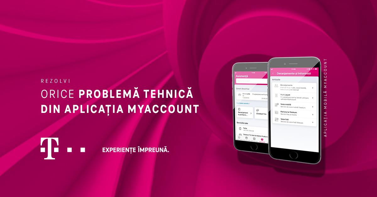 telekom my account probleme tehnice