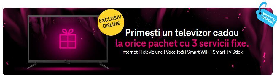 telekom pachete televizor gratuit