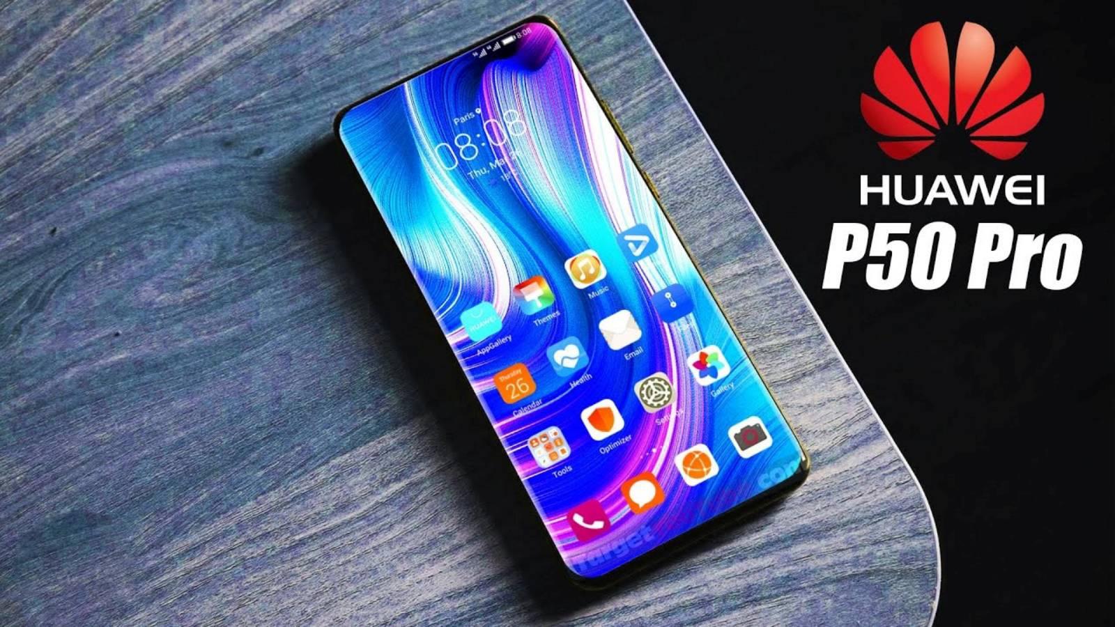 Huawei P50 Pro milisecunda