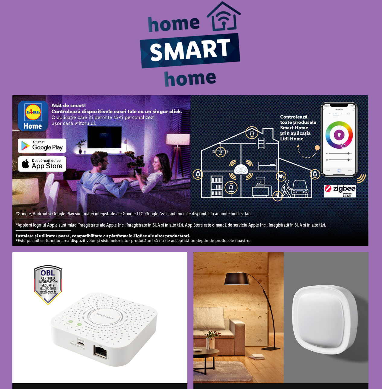 LIDL Romania iot smart home
