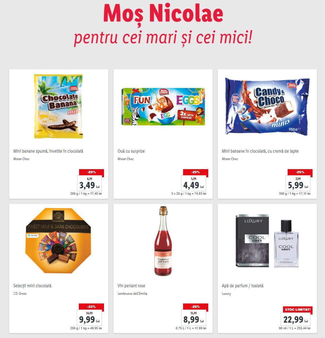 LIDL Romania nicolae cadouri