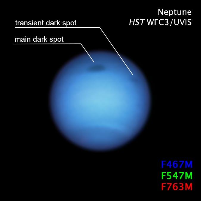 Planeta Neptun furtuna directie