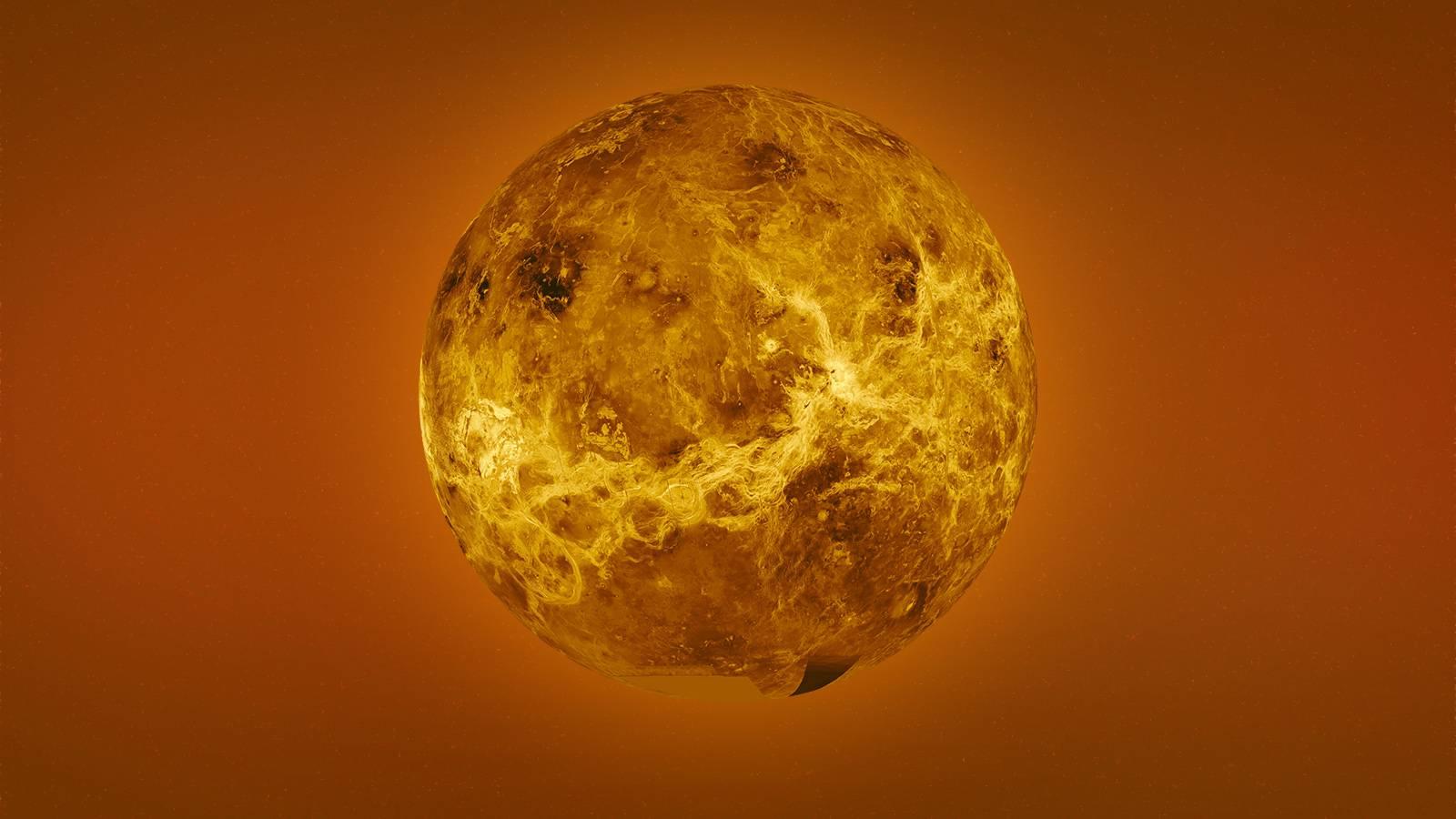 Planeta Venus verde