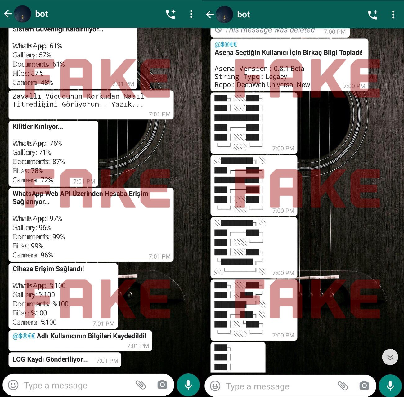 WhatsApp spargere telefoane