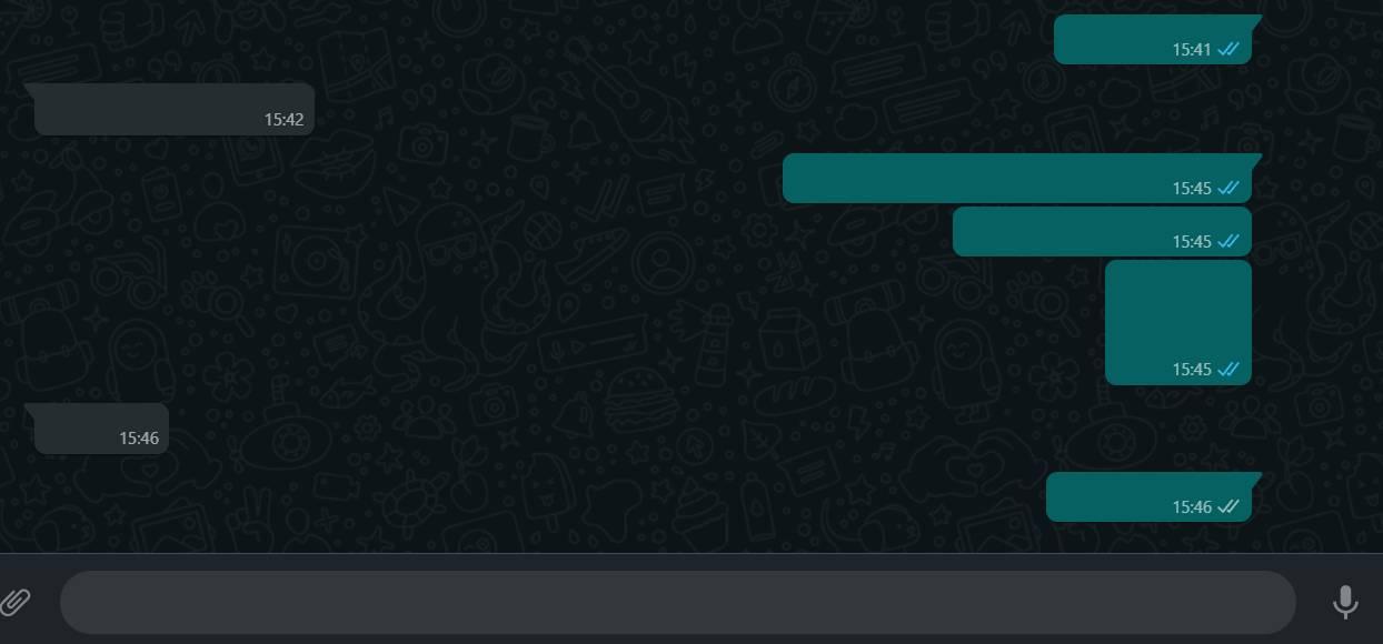 WhatsApp verde intunecat