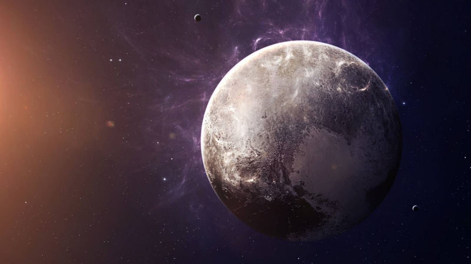 planeta Pluto gheata