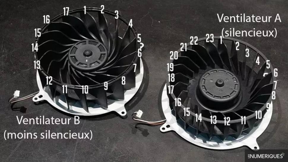 ps5 ventilatoare zgomotoase