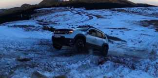 Dacia duster land rover discovery