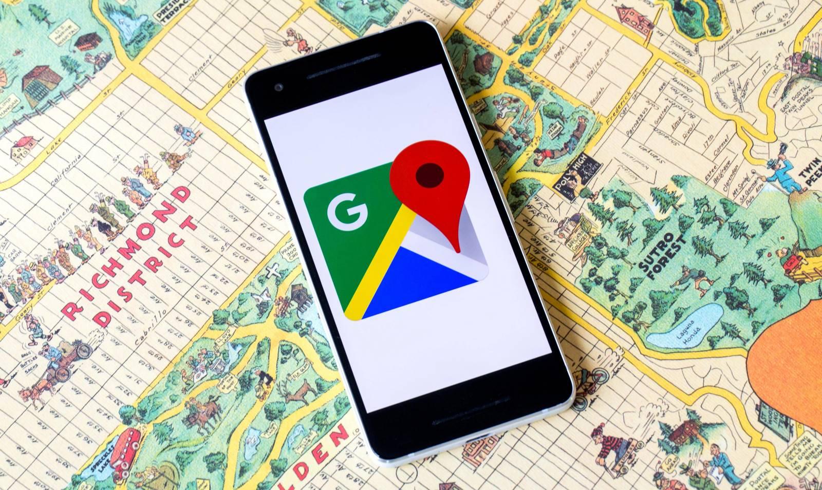 Google Maps stradal