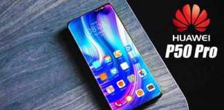 Imaginea Huawei P50 Pro Rivalul Samsung GALAXY S21