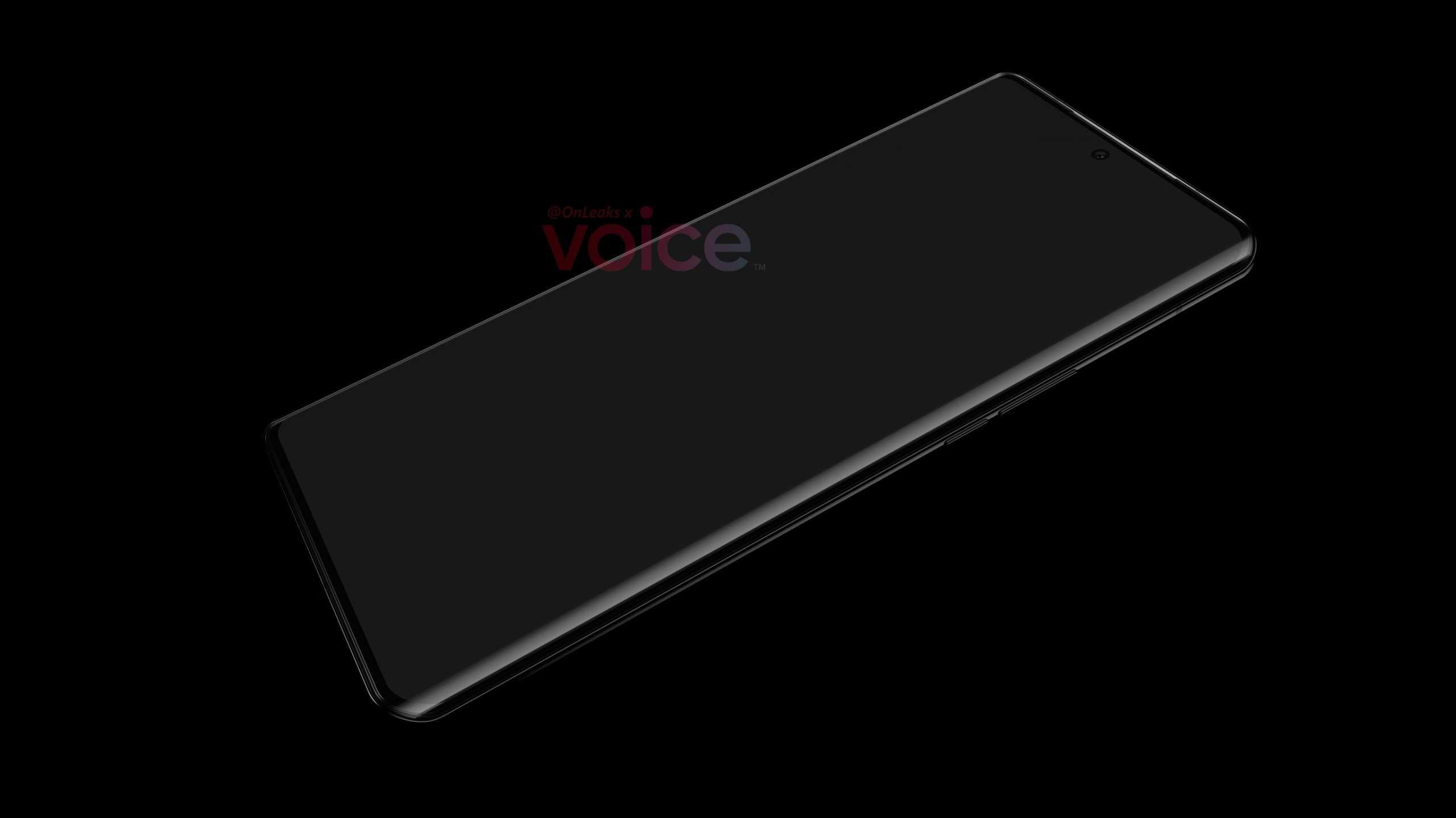 Imaginea Huawei P50 Pro Rivalul Samsung GALAXY S21 design