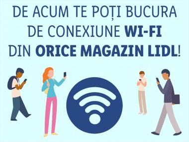 LIDL Romania conectare hotspot WiFI