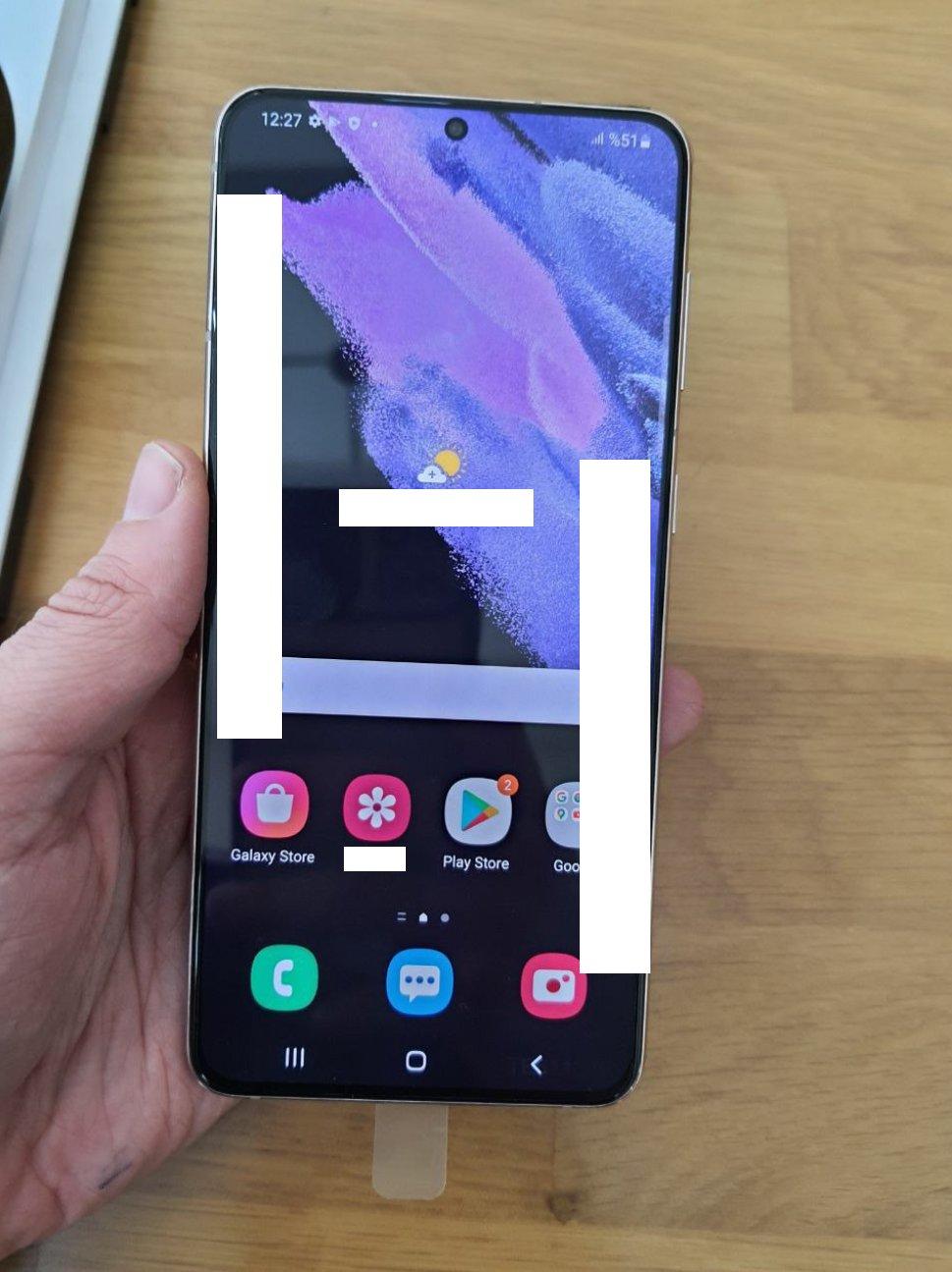 Capturi de ecran Samsung GALAXY S21 Plus