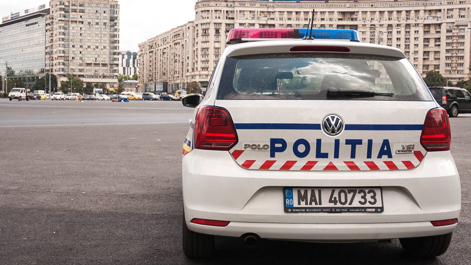 AVERTISMENT Politia Romana radar fix