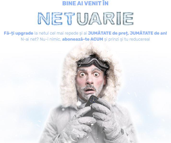 DIGI Romania inghetat internet