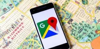 Google Maps Schimbare de interfata pentru navigarea ghidata