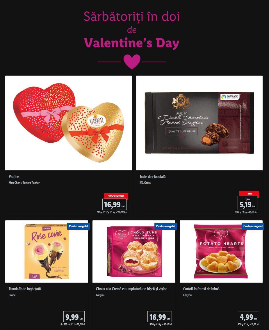LIDL Romania valentines day
