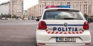 Politia Romana scrumiera